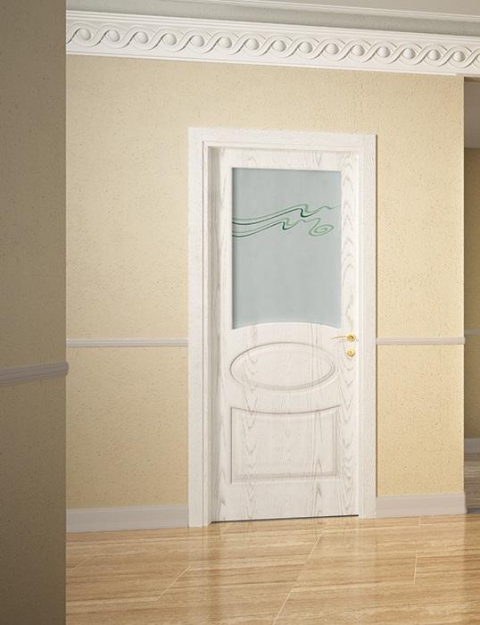 Porte in legno bianche va04 pineglen - Finestre in frassino ...